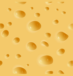 cheese seamless background vector image