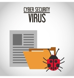 Cyber Security design vector image vector image