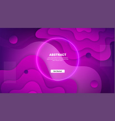 Dynamic gradient abstract background minimal vector