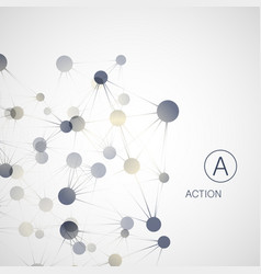 Dynamic molecule structure science and connection vector
