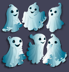 Family ghosts vector
