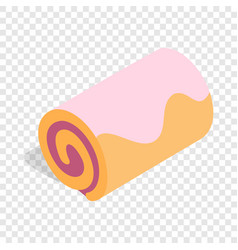 roll isometric icon vector image