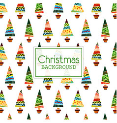 Watercolor christmas background vector