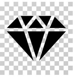 diamond icon vector image
