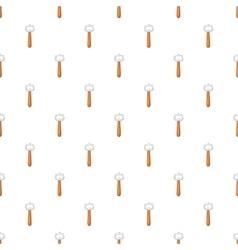 Beer bottle opener pattern cartoon style vector image