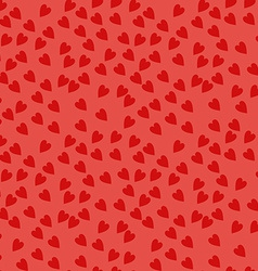 Seamless Pattern with Hearts Background for vector image vector image