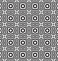 Abstract black and white textured geometric vector image