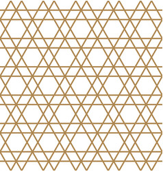 abstract geometric seamless pattern brown lines vector image