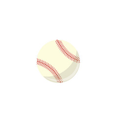 baseball ball sport equipment simple icon vector image