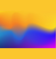 color abstract gradient background watercolor vector image