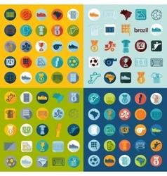 Football soccer infographic vector