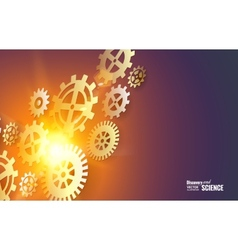 Gear whells vector image