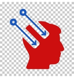 Neural Interface Icon vector