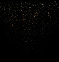 overlay effect glitter gold light shine effect on vector image