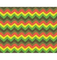 Rasta Zigzag Pattern vector
