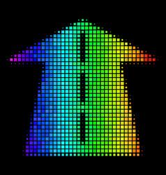 Spectrum dot future road icon vector