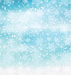 watercolor christmas snowflakes 2410 vector image