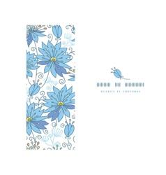 Heavenly flowers horizontal seamless pattern vector image vector image