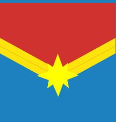 Captain marvel logo marvel films superhero icon vector