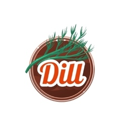 Dill Spice vector image