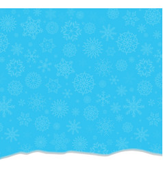 elegant winter festive blue background with vector image
