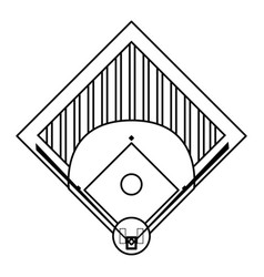 Field baseball related icon image vector