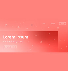 Futuristic horizontal gradient background vector