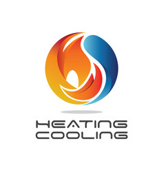 Heating cooling vector