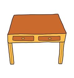 Icon desk vector