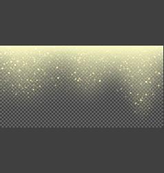 snow falling glittering snowflake winter glitter vector image