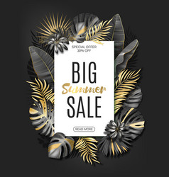 vertical advertising banner or poster vector image