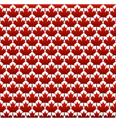 Seamless structure Canada day vector image vector image