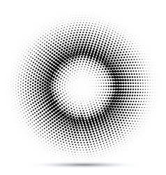 halftone dot background 1907 vector image vector image