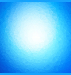 abstract blue water triangles background vector image