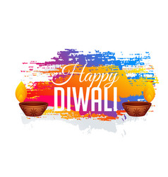abstract diwali gestival background with colorful vector image