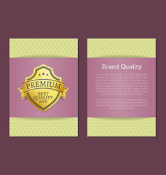 best quality premium 100 choice exclusive label vector image