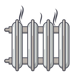 cast-iron battery icon cartoon style vector image