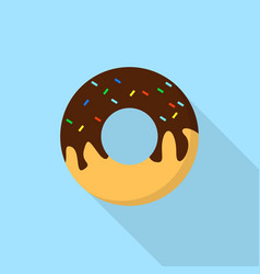 donut icon set of great flat icons design vector image