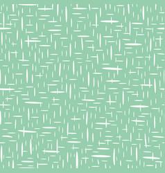 Hand drawn basket weave design in random geometric vector