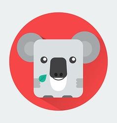 Koala Baby Animal Icon vector