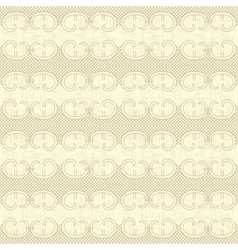 Ornate vintage seamless pattern vector