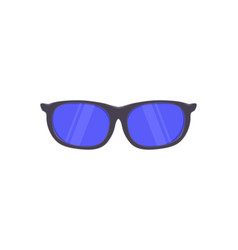 sunglasses in flat style vector image