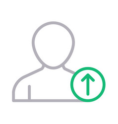 Upload profile vector