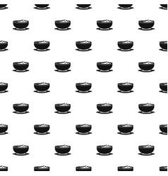vietnam food pattern seamless vector image