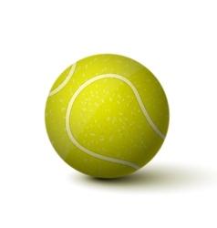 Realistic Tennis Ball Icon vector image vector image
