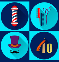 Barber shop 01 vector