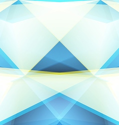 Abstract Triangle Geometrical blue Background vector image