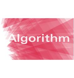 Algorithm conception triangles art presentation vector