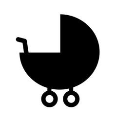 baby pram accessory pictogram vector image