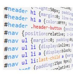 Css code vector